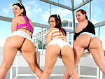 assparade: Three asses are better than two