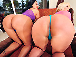 Two Huge Asses Pounded