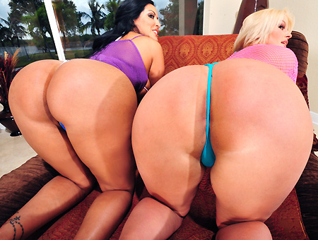 Two Huge Asses Pounded Ass Parade