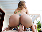 assparade: Huge Colombian ass on this amateur MILF