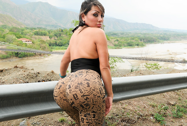 Huge Latina ass to play with and fuck over and over