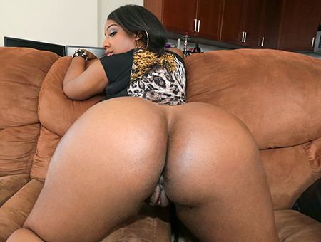 Beautiful Big Ebony Ass!