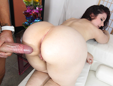 Petite Redhead Lily Sincere Gets Fucked By Huge Cock Ass Parade