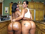 Pic of  in assparade episode: Double the hot huge asses