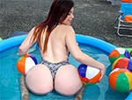 Assparade presents: Big asses make beach blast better