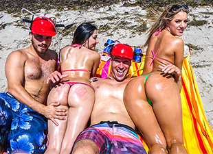 AssParade – Spring Break Booty – Candice Dare