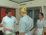 Pic of Vicky in assparade episode: Maid Service