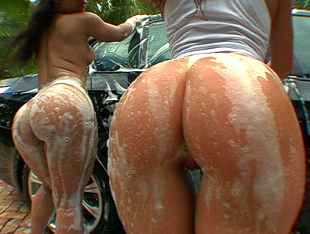 Car Wash Bottoms Ass Parade