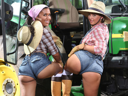 Big Booty Farmin' Ass Parade