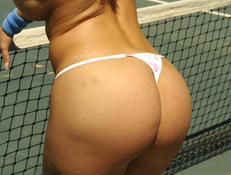 Naked Tennis...Simple. Ass Parade