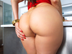 Big, round, juicy ass escort does anal