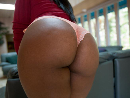 Ebony And Ivory Ass Parade