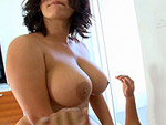 assparade: Angelina's Perfect Tits and Perfect Round Ass