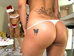 Pic of Spicy J in assparade episode: Santa's Big Booty Helpers