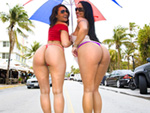 assparade: Mariah Milano & Charley Chase 	