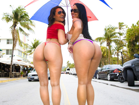 Mariah Milano &amp; Charley Chase 	 Ass Parade