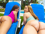 Pic of Assparade in Dick in a Box w/ Aurora Jolie & Catalina Taylor