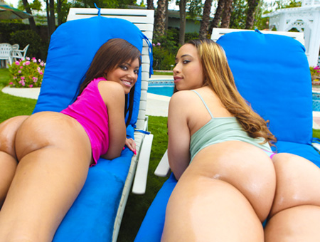 Dick In A Box W/ Aurora Jolie &amp; Catalina Taylor Ass Parade