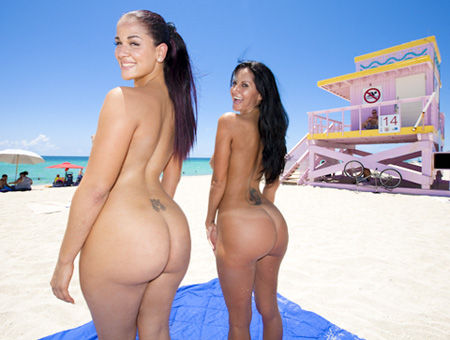 Ava Addams &amp; Miss Raquel  Ass Parade