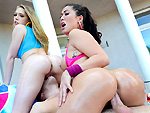 Pic of London Keyes in assparade episode: Ass for All w/ London Keyes & Kagney Linn Karter