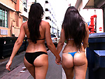 Pic of Liz in assparade episode: Rachel Starr and her Phat Ass Cuban Friend