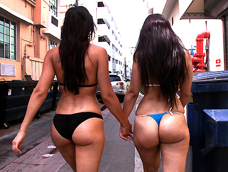 Rachel Starr And Her Phat Ass Cuban Friend Ass Parade