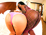 Pic of Tatiyana Foxx in assparade episode: Escorts and Ass! w/Tatiyana Foxx & Abbey Brooks