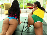 Pic of Assparade in Lovely Butts w/ Imani Rose & Rose