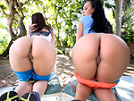 Pic of Assparade in That ASS is Too Phat! w/ Linda Gapes & Mariah Milano