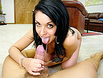 bigmouthfuls: Riley Swallows A Big Load