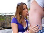 Pic of Nena Linda in bigmouthfuls episode: This Chick Is No Joke