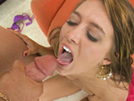 bigmouthfuls: Angelica Lane Swallows Every Last Drop!