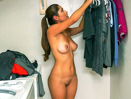 Latina maid nude