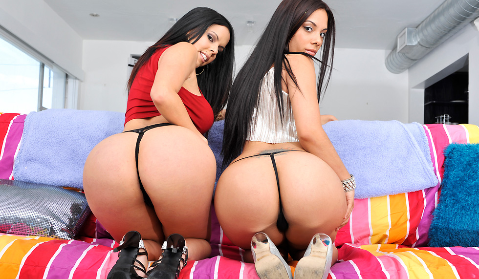 Big Butt Latina Threesome