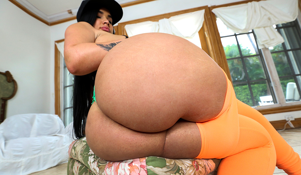 Big Round Fat Ass Latina