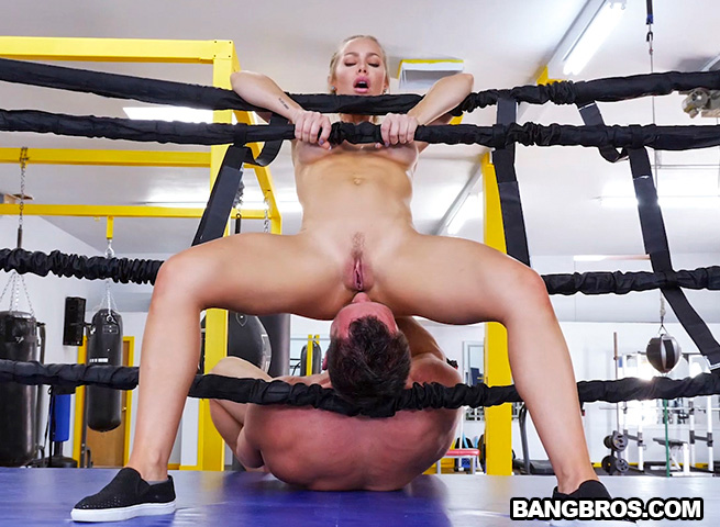 AssParade – Creampie During A Hard Work Out – Nicole Aniston
