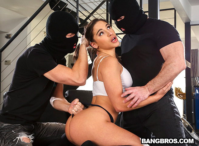 AssParade – Takes 2 Dicks in Her Ass – Abella Danger