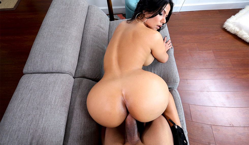 Big Ass Latina Riding Creampie