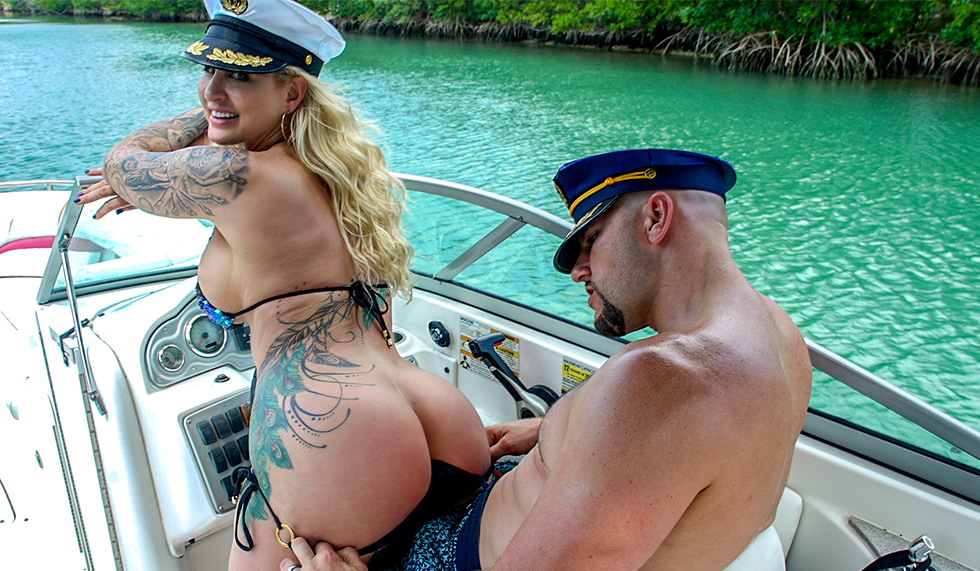 Big boob boat ride 1 cover