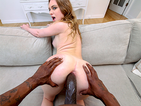 Interracial Blonde Lex Anal