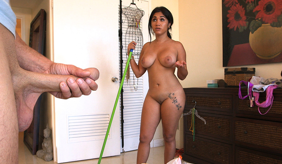 Maid tits big tits hispanic latina