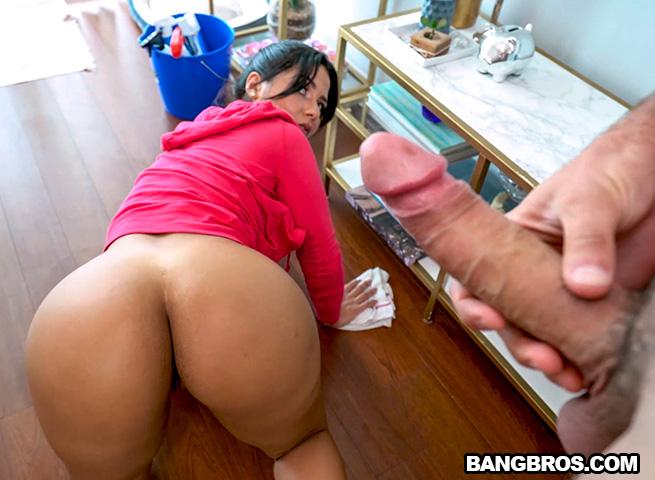 Homemade Latina Teen Backshots